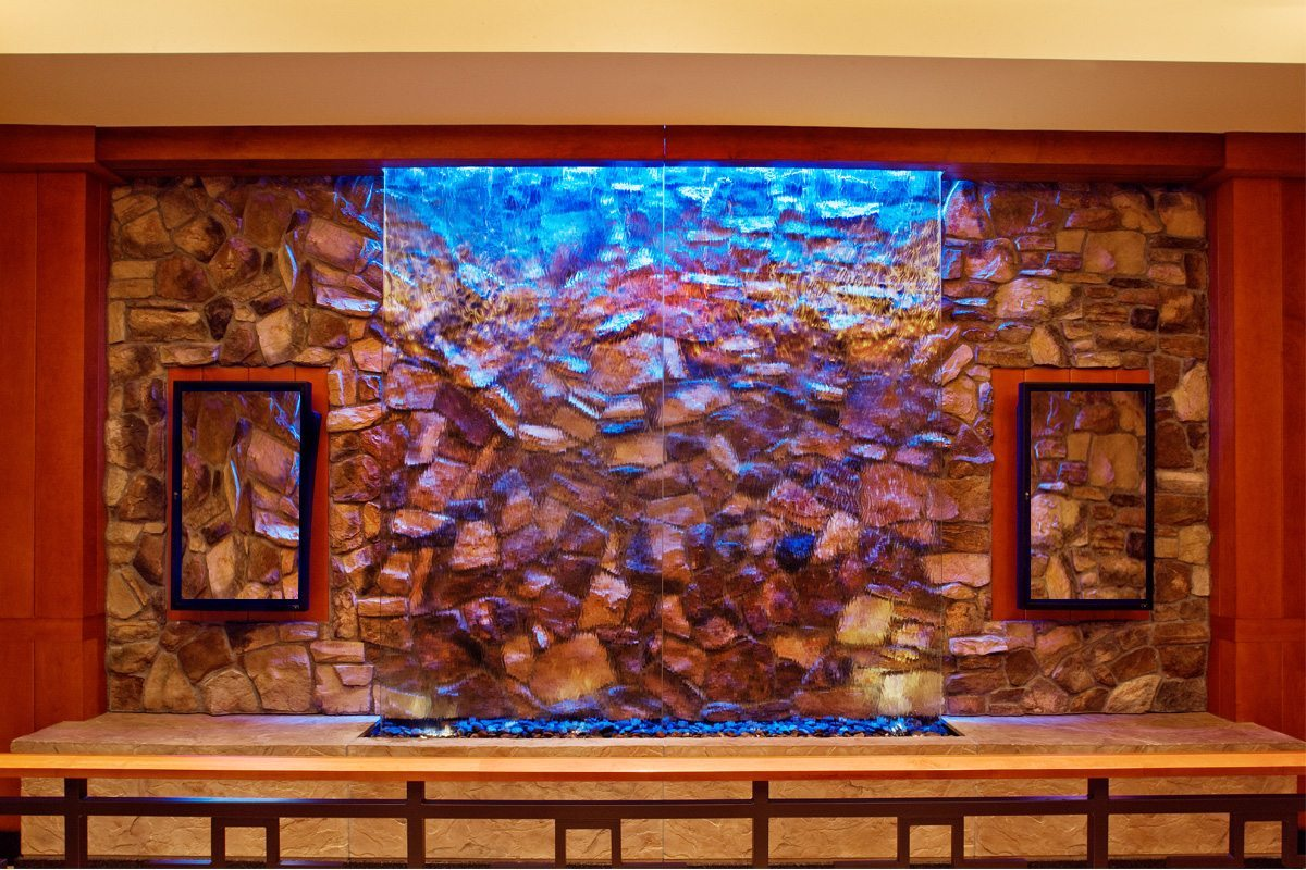 Buffet Waterfall Glass