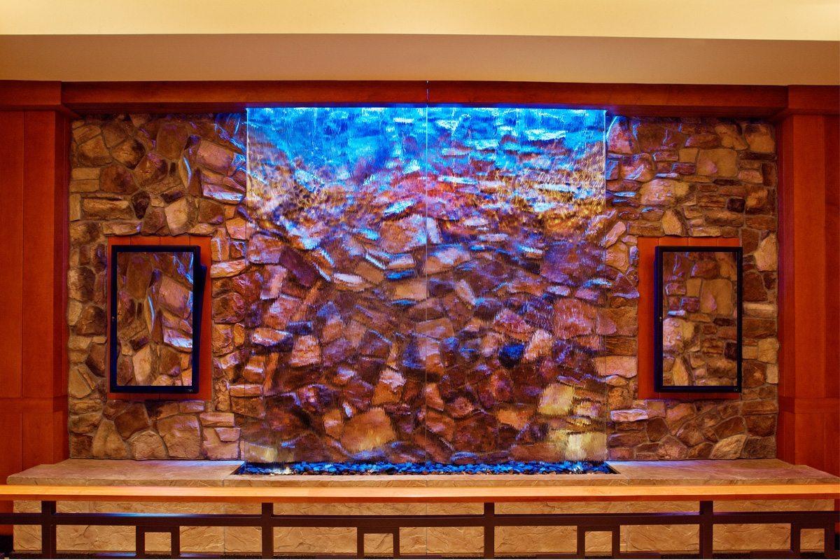 Buffet Waterfall Glass