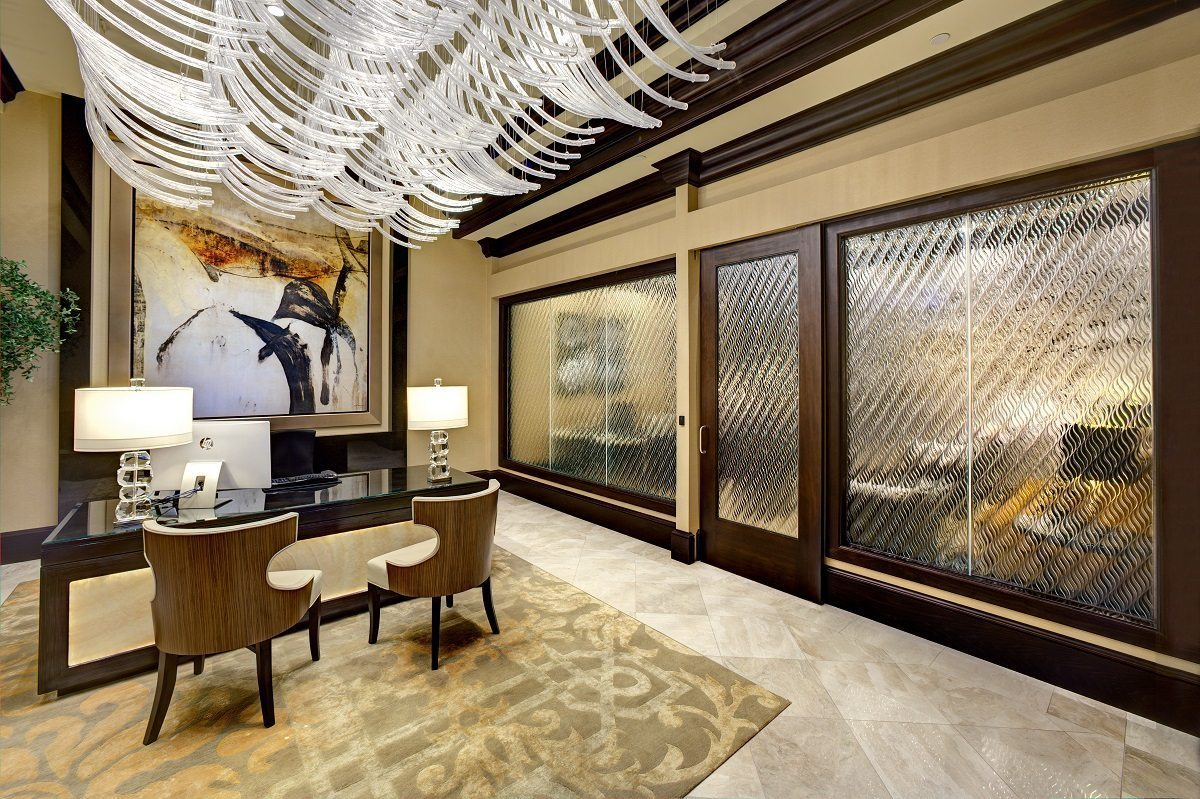 Cache Creek Decorative Glass Partition 1