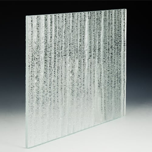 Crystal Low Iron Textured Glass