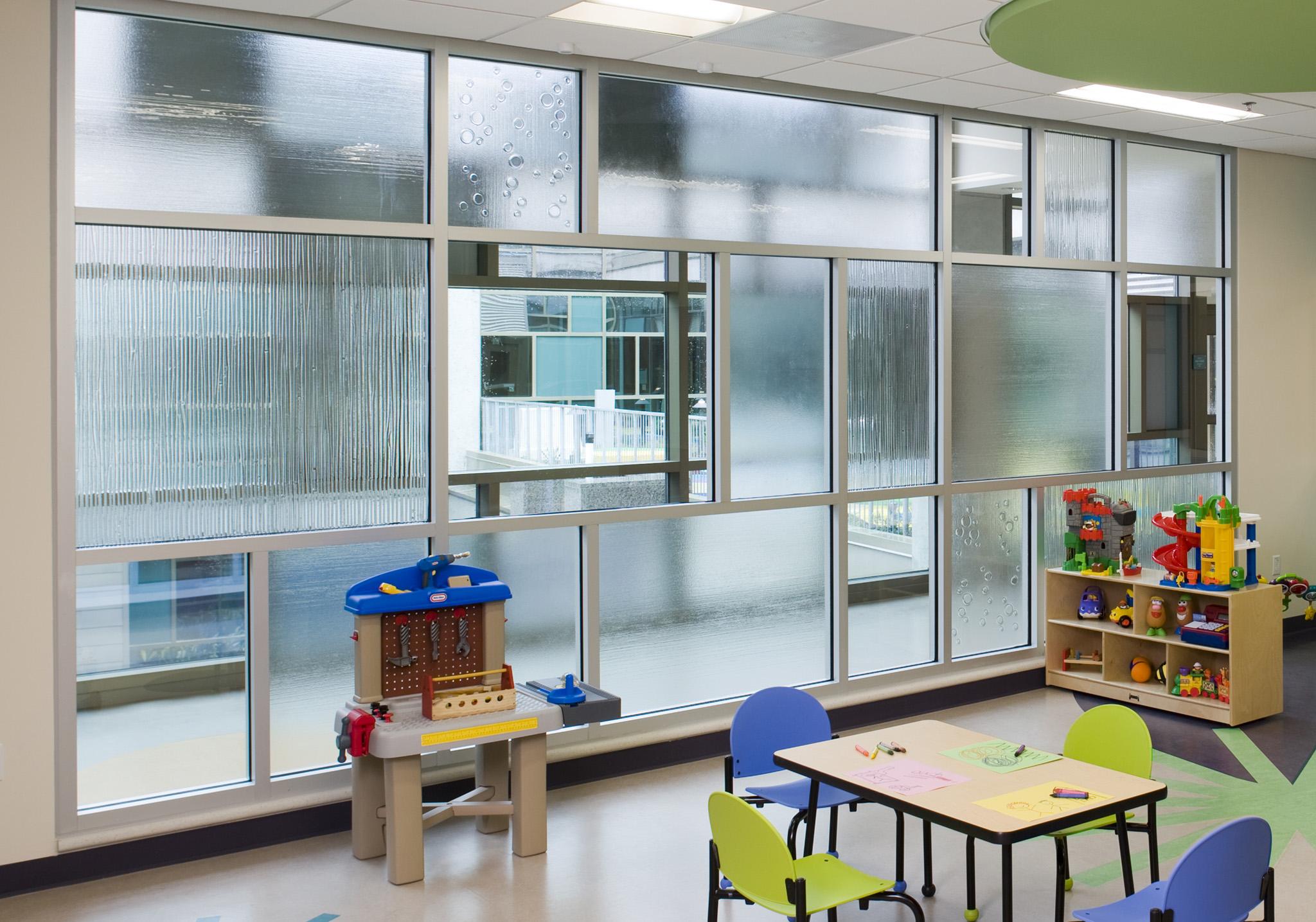 DELL CHILDREN'S MEDICAL CENTER Glass