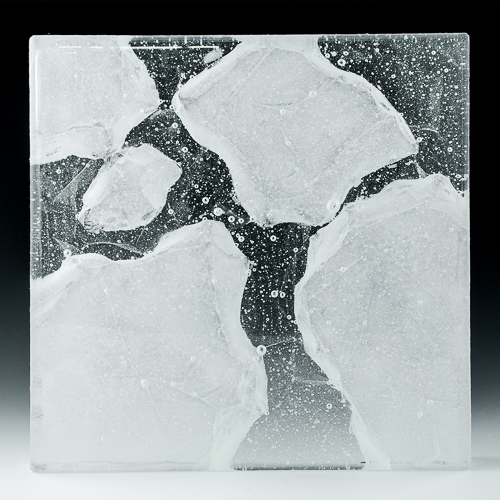 Iceberg Textured Glass front