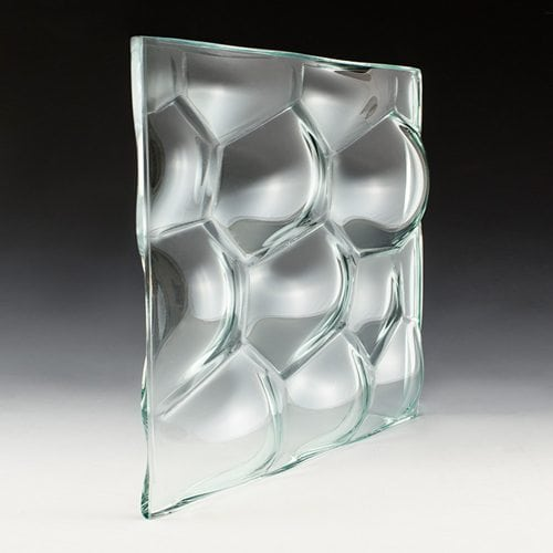 Convex Aero Textured Glass