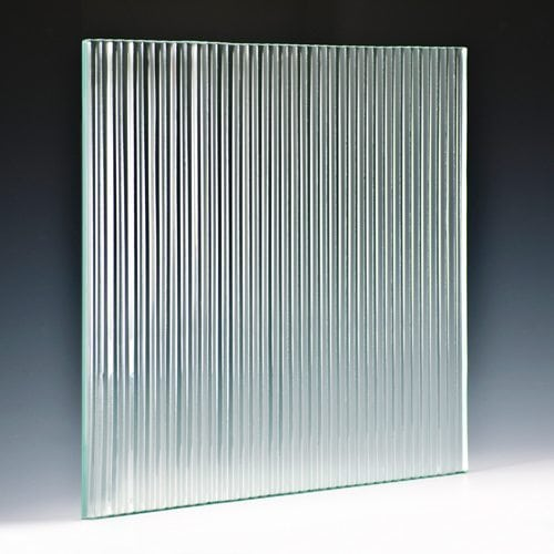 Fluted Architectural Cast Glass