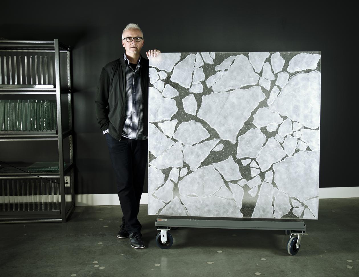 Iceberg glass story