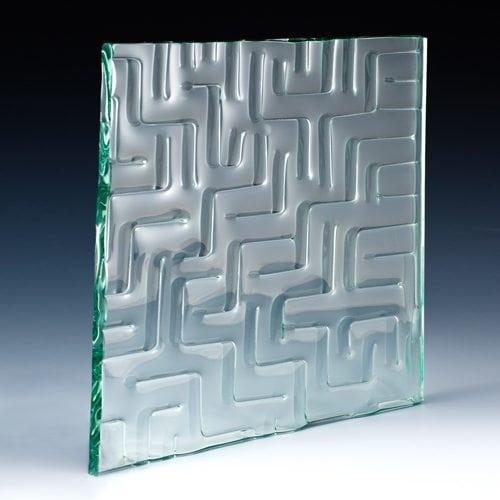Maze Architectural Cast Glass