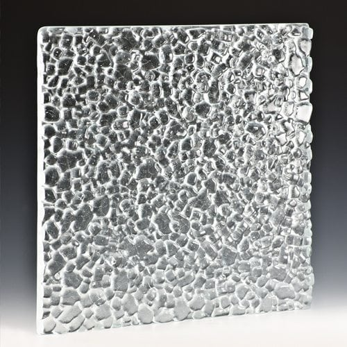 Stones Low Iron Textured Glass