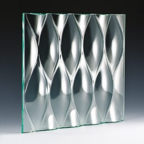 Teardrop Grande Architectural Cast Glass