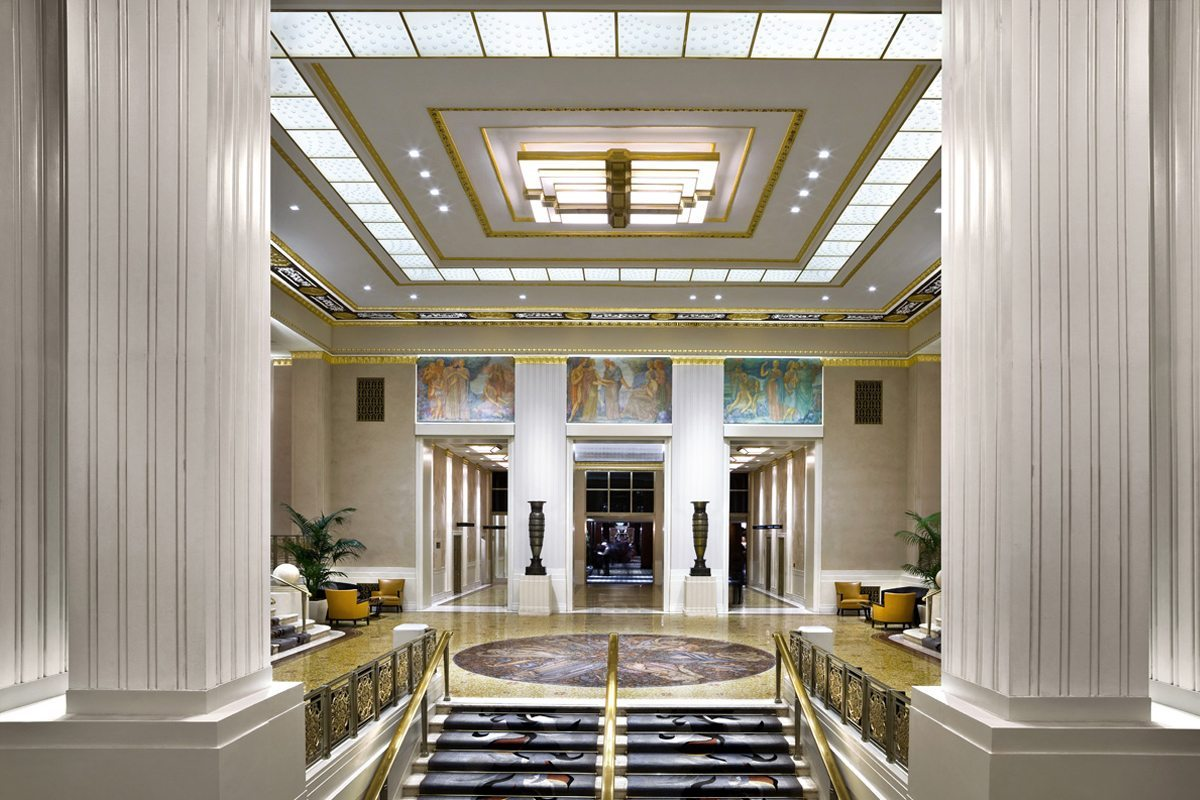 Waldorf Astoria Glass Walls Feature Gallery