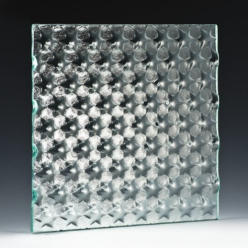 Cluster Textured Glass