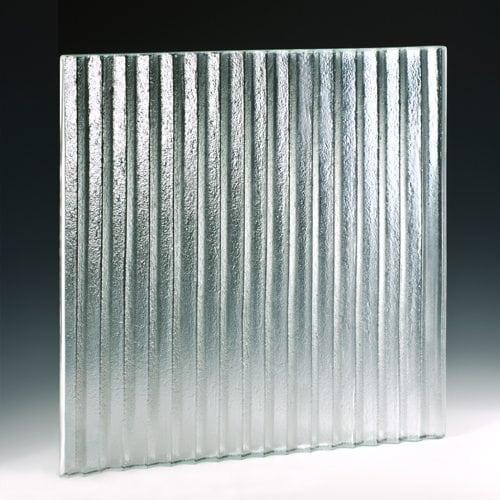 Sawtooth Mega Textured Glass