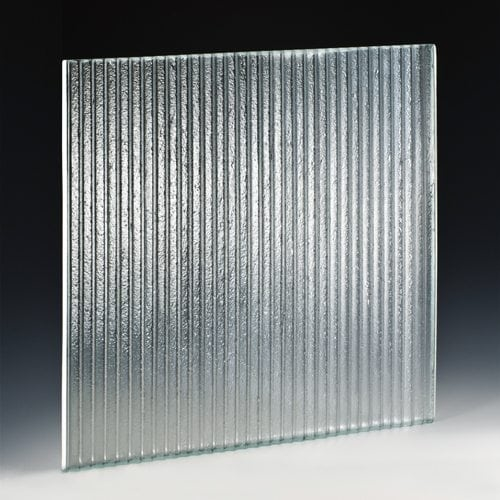 Sawtooth Mini Textured Glass