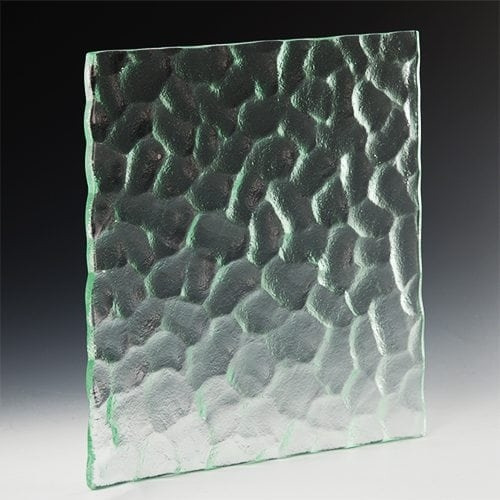 Cobblestone Textured Glass