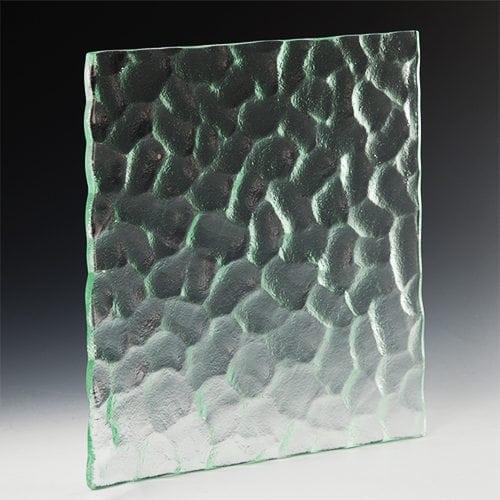 Cobblestone Textured Glass