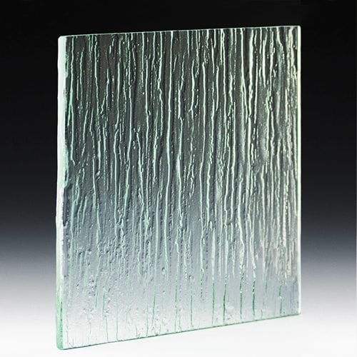 Cascade Textured Glass
