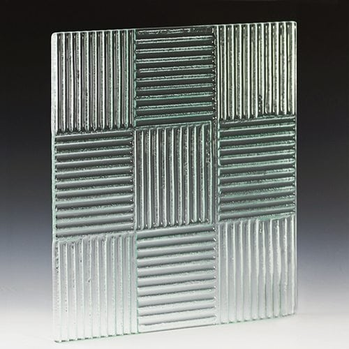 Crossreed Textured Glass