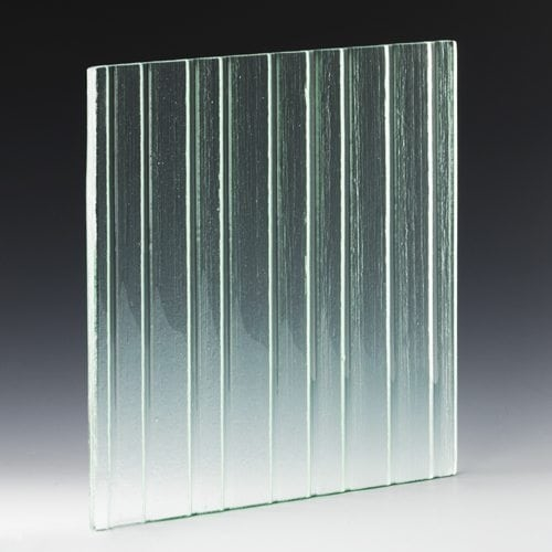 Icicle Rain Textured Glass