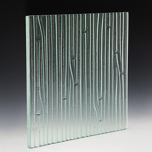 Deep Rain Textured Glass angle