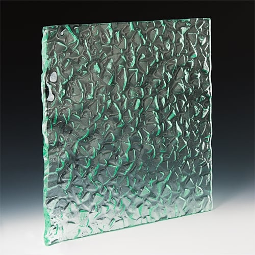 Arctic Ice Textured Glass