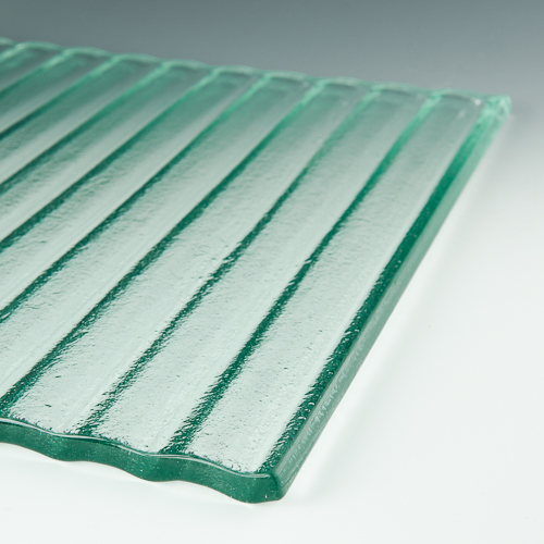 Arroyo Textured Glass flat