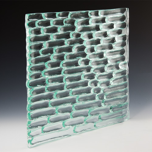 Runnel Textured Glass
