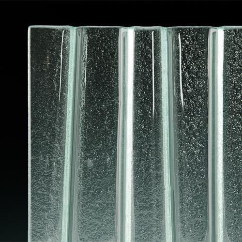 Grade Textured Glass corner