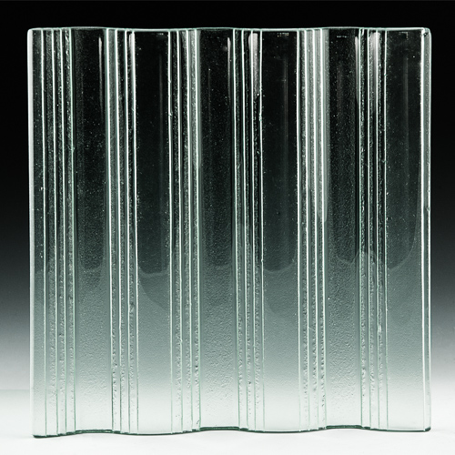 Groove Textured Glass front