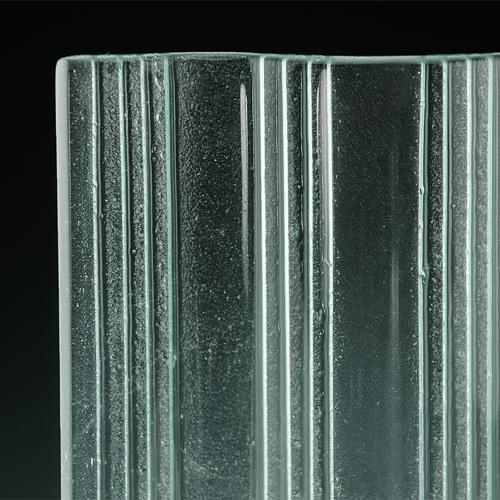 Groove Textured Glass corner