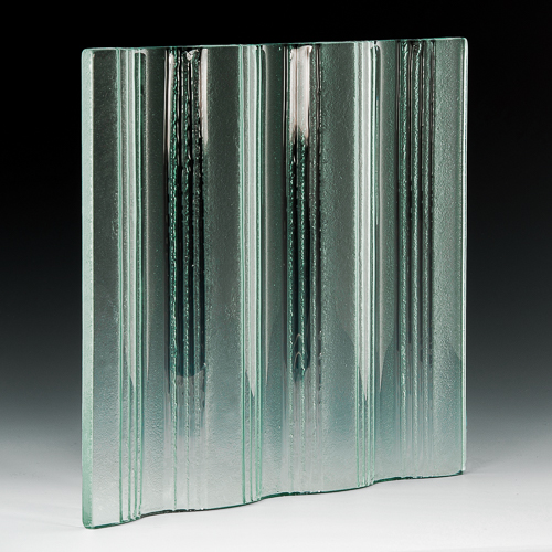 Groove Textured Glass angle