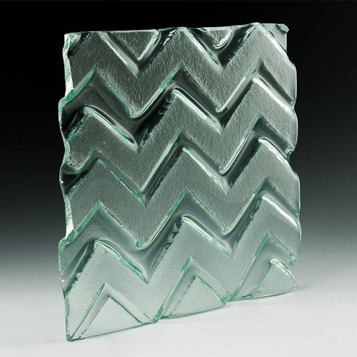Pinnacle Textured Glass angle