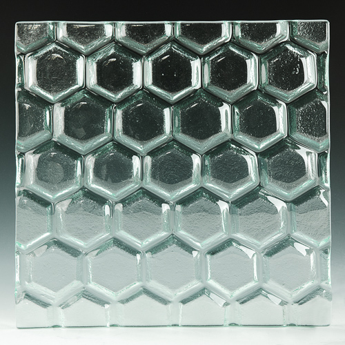 Hex Textured Glass 1 front