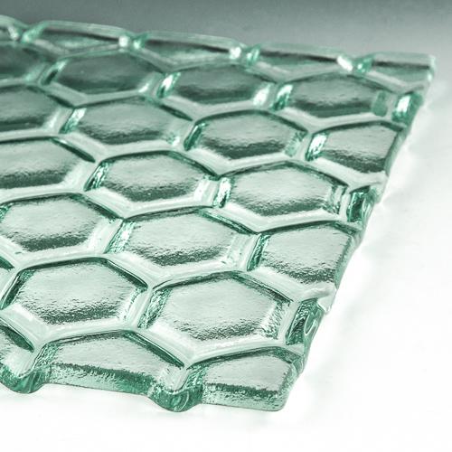 Hex Textured Glass 1 flat