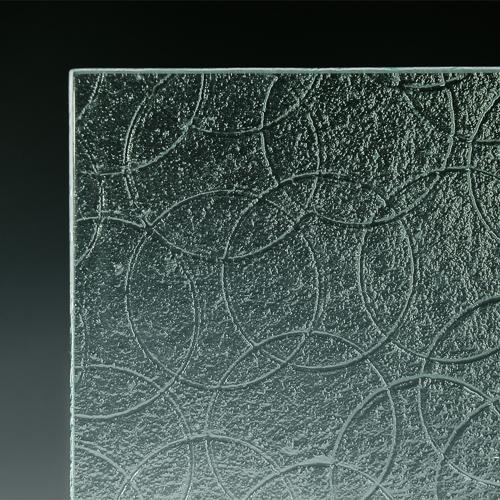 Spiro Textured Glass corner