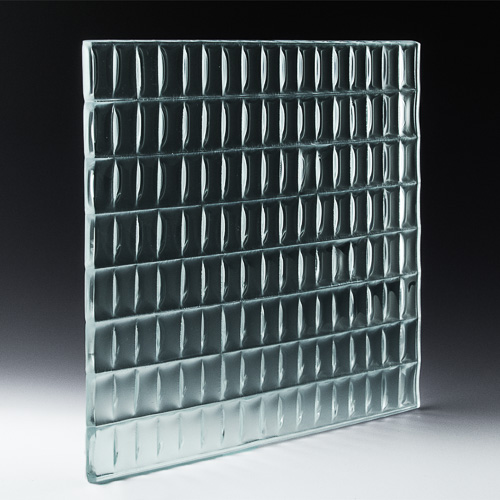 Lattice Low Iron Glass Front