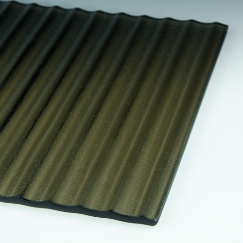 Arroyo Bronze Glass flat