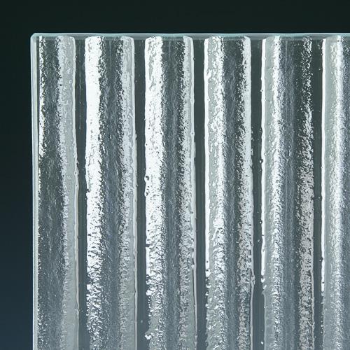 Arroyo Low Iron Textured Glass Corner