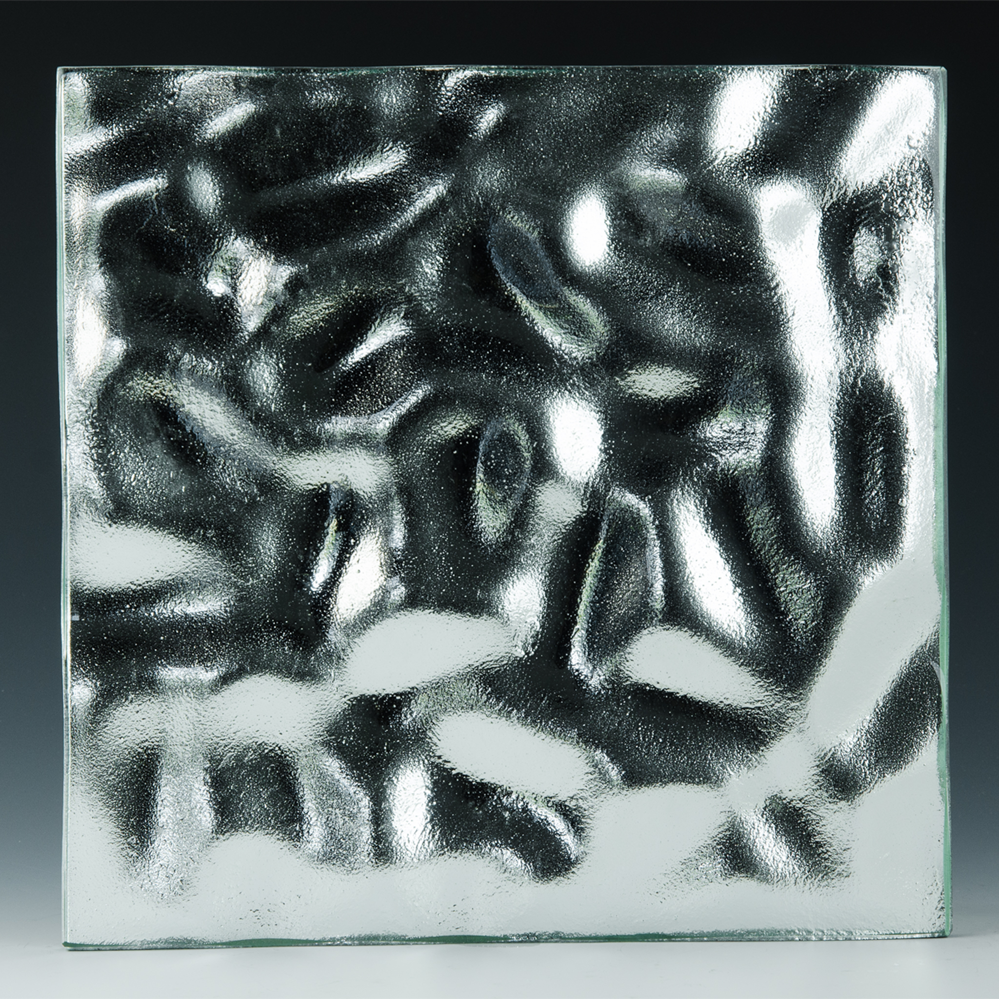 Boulder Silvered Glass front