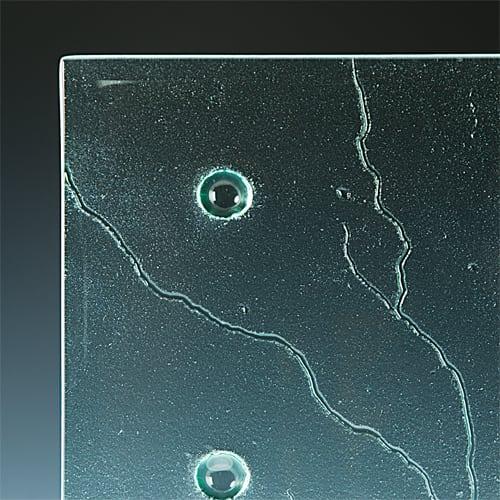 Callisto Textured Glass Picture 3