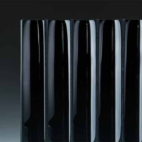 Cathedral Black Glass corner