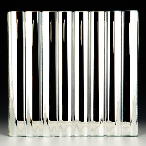 Cathedral Low Iron Silvered Glass 2