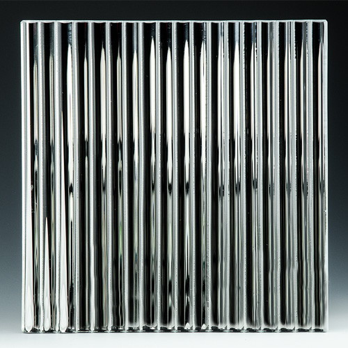 Channel Low Iron Silvered Glass front