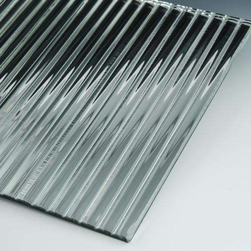 Channel Low Iron Silvered Glass flat