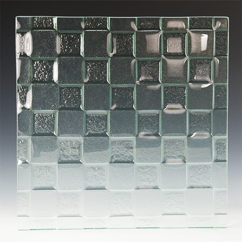 Checkerboard Textured Glass 2