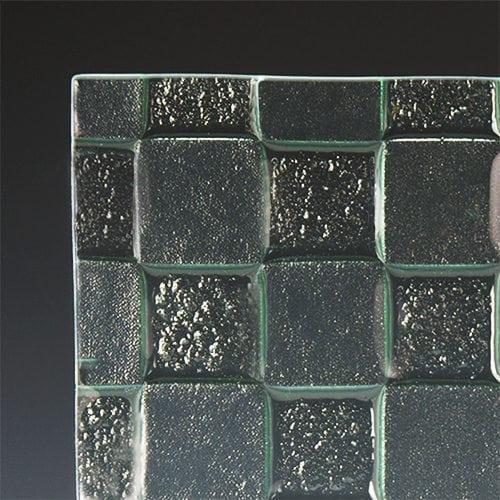 Checkerboard Textured Glass 3