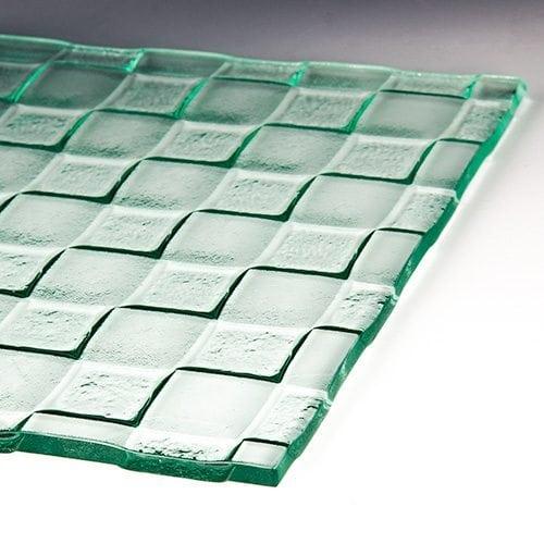 Checkerboard Textured Glass 4