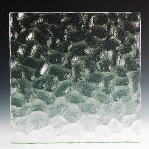 Cobblestone glass front