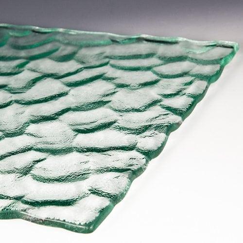 Cobblestone glass flat