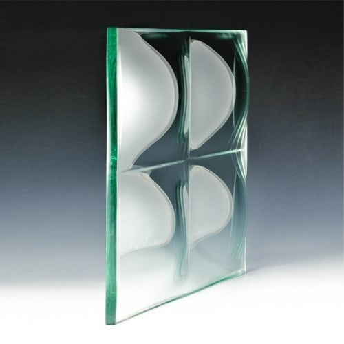 Convex Square Glass angle