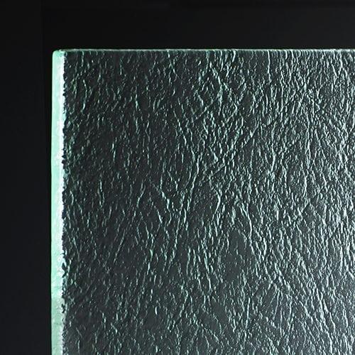 Suede Glass Corner