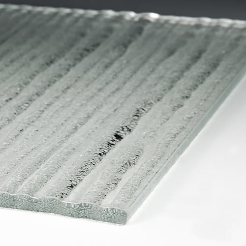 Crystal Cascade XL Low Iron Textured Glass